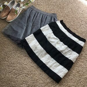 Skirt bundle!!! LOFT & LC SKIRTS. SIZE 2!